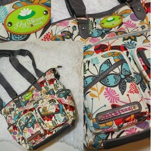 Lily Bloom Eco-Friendly Butterflies Bag